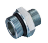BSP male double use for 60° cone seat or bonded seal/ SAE o-ring boss L-series ISO11926-3