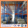widespan high rise system medium duty steel shelving system