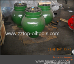 Mud pump Pulsation Dampener