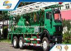 Oilfield Vehicles Oil Recovery Truck With Mobile Pumping Unit / Oil Bailing Rig