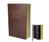 faux book box Disguised as a paperback book with luxury PU cover
