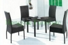 Wicker table chair set furniture for living room