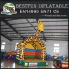 Giraffe inflatable children bounce house trampoline