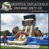 Inflatable sport game Treasure climbing inflatable slide