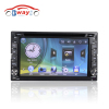 Bway interchangeable car video player for universal car dvd gps 256 MB RAM with Radio bluetooth USB SD slot steering whe