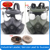 NEW Double Gas Mask protection filter Chemical Gas Respirator Face Mask Black/green/Tan