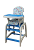 Dearbebe Baby High Chair with Playtable Conversion. Pink/Gree/Blue/Brown. EN14988 Standard