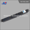 Double air switch PDU