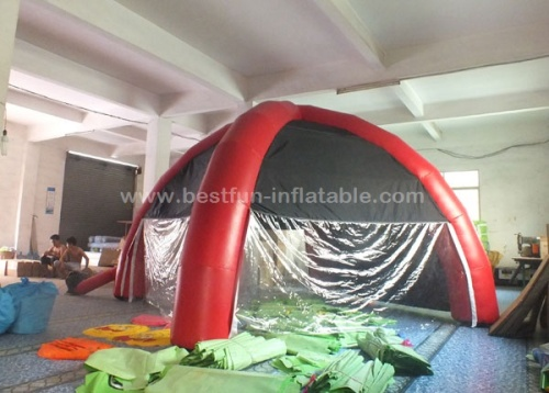 Advertising inflatable arch tent for event