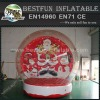 Christmas human inflatable snowing globes