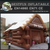 Vintage inflatable pub tent inflatable pub house for party drinking