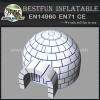 White Christmas Igloo Inflatable Dome Tent