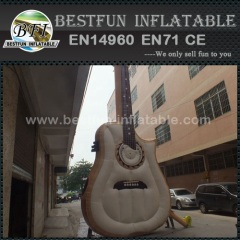 Promotion giant inflatable guita model