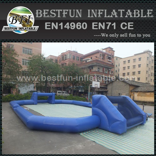 Inflatable soccer field inflatable football game court