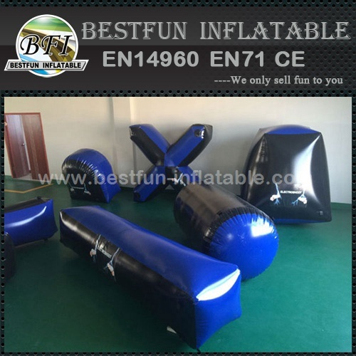 Inflatable paintball bunkers inflatable paintball shooting range