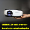 hot sales factory price mini projector / beamer led lamp wholesale price
