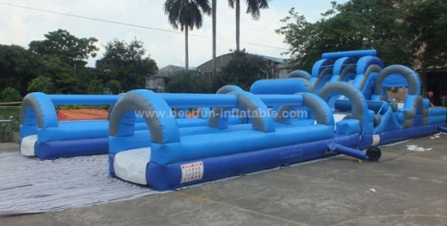 Giant Adrenaline Rush inflatable slip and slide combo for adults