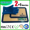 2+1 Non-stick Oven Silicone Baking Mat Set
