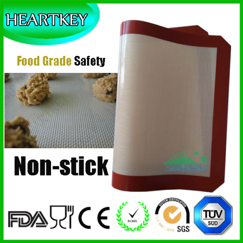 Professional Heat-Resistant Non-Stick Silicone Baking Mat Set for Cookies