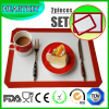 2pcs Different Size Silicone Baking Mat Set