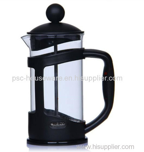 350ml Wholesale Promotion Gift French Press Coffee Maker Glass
