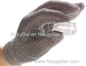 Metal mesh gloves/Chainmail gloves/Stainless steel mesh gloves/Anti cut gloves