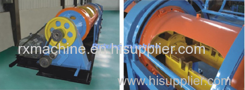 500 1 6 Tubular stranding machine for local system 7core twisted strand copper wire