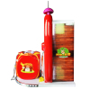 Small hunting hero shooting game machine for kids
