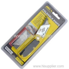 TOOL SET FOLDABLE KNIFE