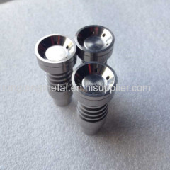 GR2 Titanium Nail fits 14mm 18mm Wax Dab Honey Comb dome