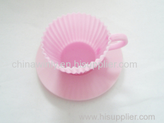 Cup Muffin Silicone Cake