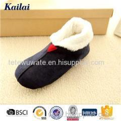 Black Warm Casual Shoes