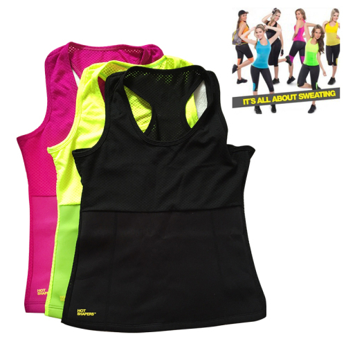 women colorful Hot shaper Yoga waistcoat