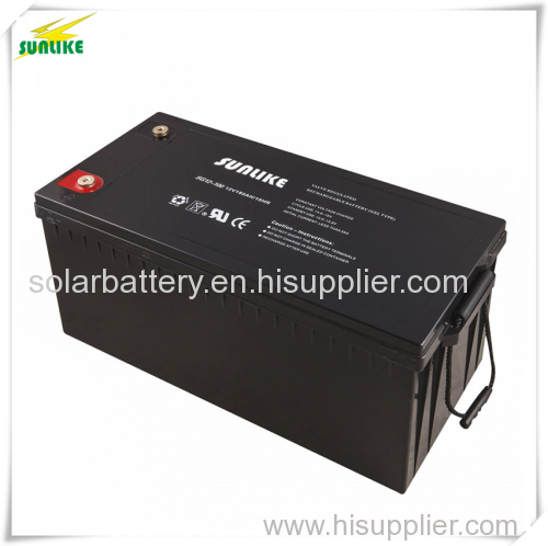 Solar Accumulator Solar Gel Battery with 20years Life 12V200ah