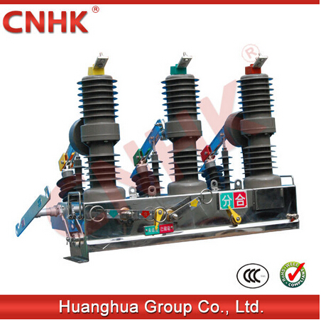 ZW32-12 outdoor high voltage vacuum circuit breaker VCB 12KV
