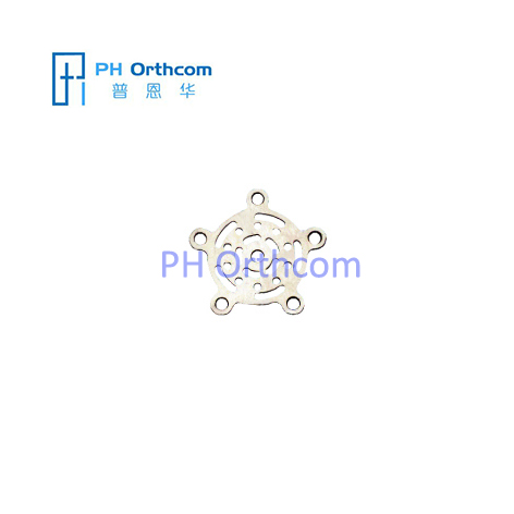 Burr Hole Plate Thickness 0.6mm Titanium Plate for Neurosurgery