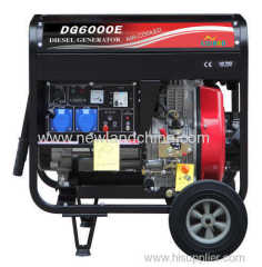 4.6KW Vertical Air cooled diesel generator