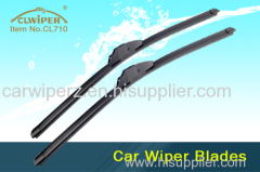 Boneless Car Front Wiper Blade Grade A Natural Rubber Valeo Ultimate Wiper Blade