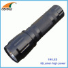 1W LED flashlight 80Lumen powerful hand torch pocket lamp waterproof anodized aluminum camping lamps CE RoHS approval