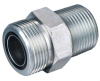 Carbon steel male hydraulic pipe fittings(ORFS o-ring)