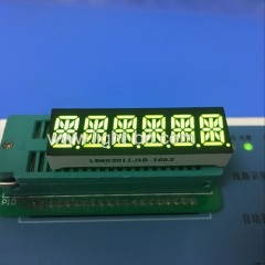 "OEM 0.39"" Six Digit 14 segment led display common anode for temperature indicator"