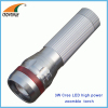 3W Cree LED flashlight 180Lumen powerful hand torch pocket lamp zoomble lantern camping lamps hiking lights