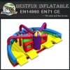 Extreme Inflatable Module Ultimate Challenge Obstacle Course