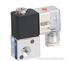 3/2 way single coil solenoid valves