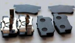 NEW GENUINE FOR HONDA CIVIC Semimetal rear brake pads