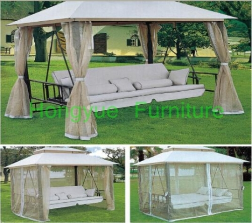 Outdoor patio rattan swings furniture