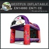 Inflatable baseball cage sport games interactive