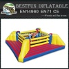 Inflatable Boxing Ring Castle Jumping Bed