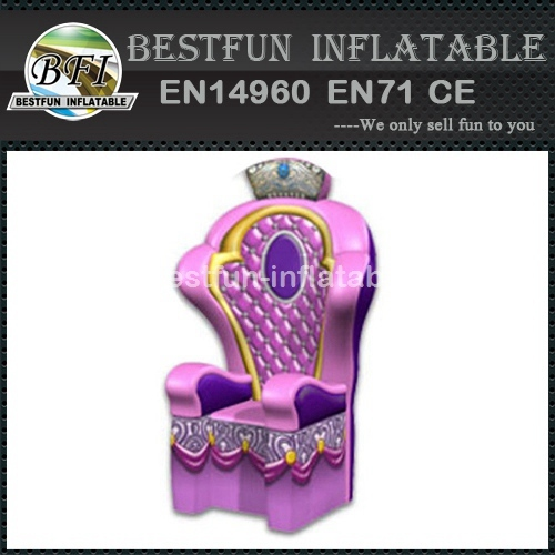 Wonderful Inflatable Throne Decoration