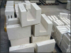 Casting AZS refractory Fused cast AZS for furnace